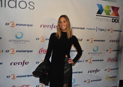 Gemma Mengual llega a la gala