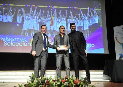 Fede Quintero, Scariolo y Manu Sánchez.