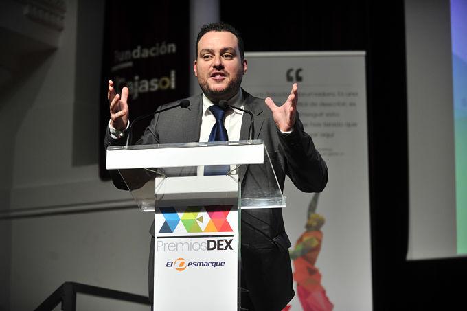 El discurso de Fede Quintero en los Premios DEX