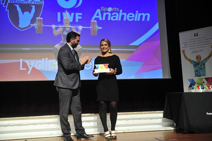 """Lydia Valentín: """"Este premio tiene mucho que ver conmigo"""""""