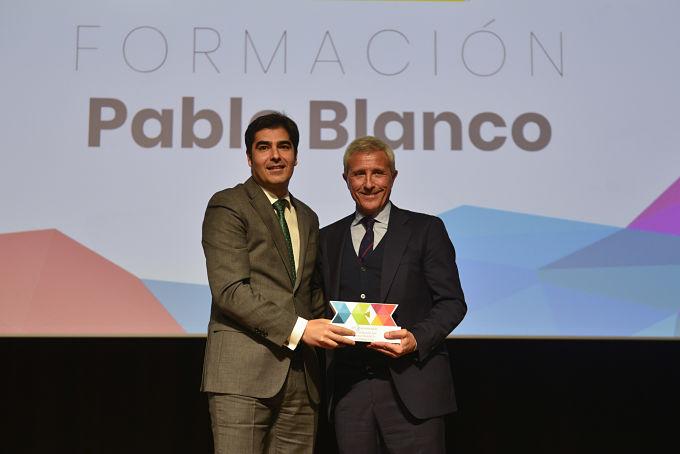 """Pablo Blanco: """"Quiero compartir este premio con todos mis compañeros"""""""