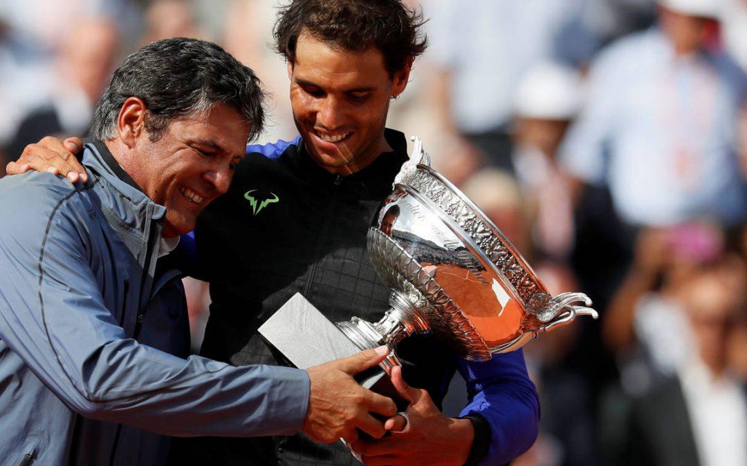 """Toni Nadal: """"Agradecer a ElDesmarque por haberme concedido este premio"""""""