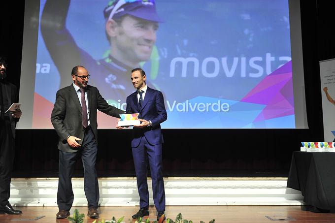 Valverde agradece el DEX a la trayectoria con efusividad
