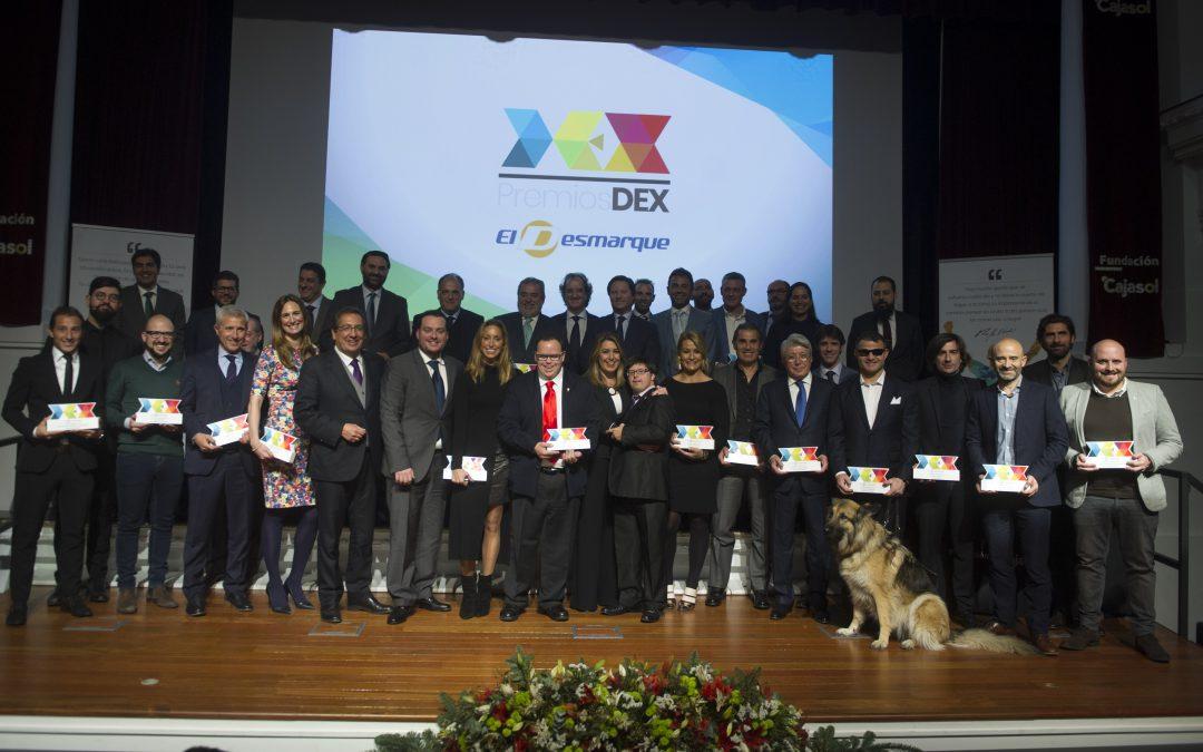 Éxito rotundo de la I Gala de Premios DEX