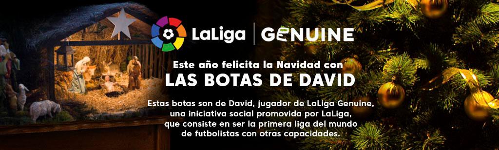 Felicita la Navidad con 'Las botas de David'