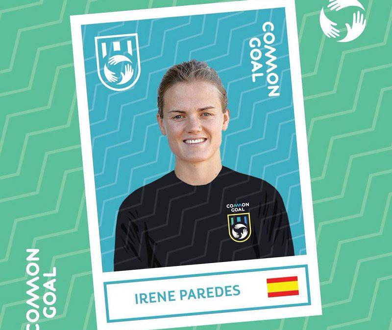 Irene Paredes se suma al proyecto Common Goal de Mata