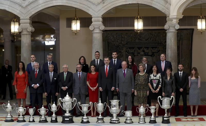 Los Reyes entregan los Premios Nacionales del Deporte 2017