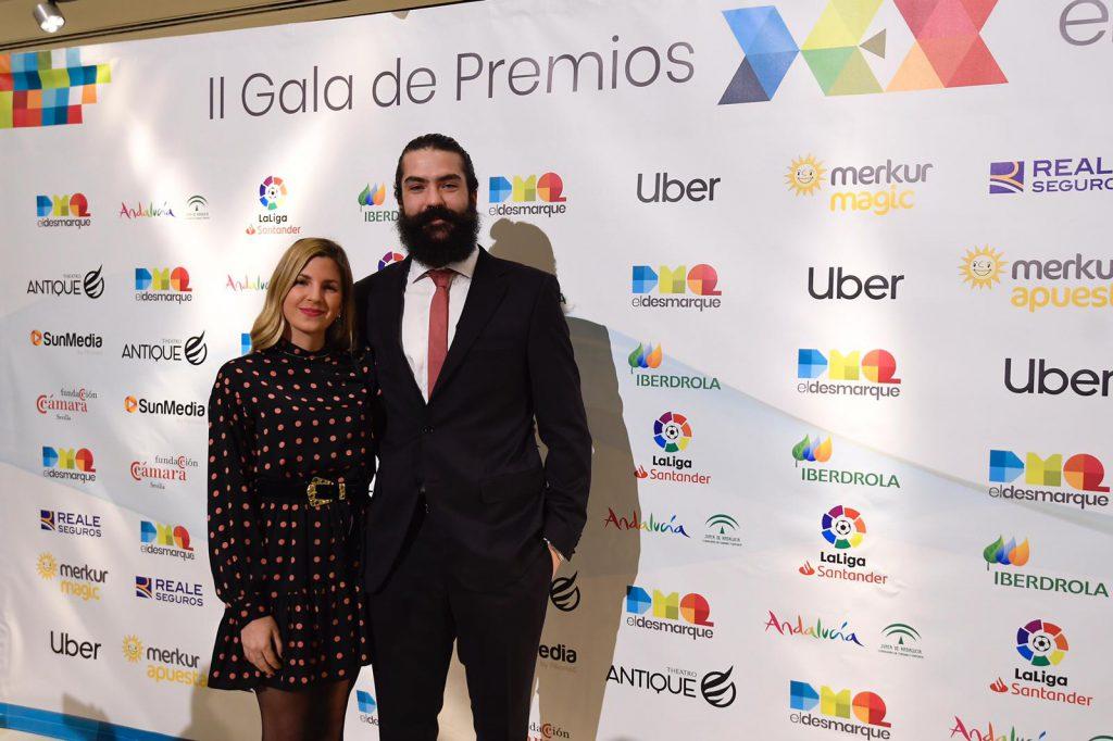 Regino Hernández, en el photocall de los Premios DEX.