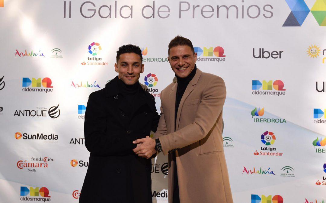 Navas y Joaquín, en los Premios DEX de ElDesmarque.