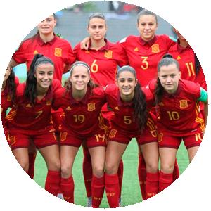 Selección Española Femenina de Fútbol Sub 17 – Igualdad