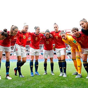 Selección Española Femenina de Fútbol – Evolución