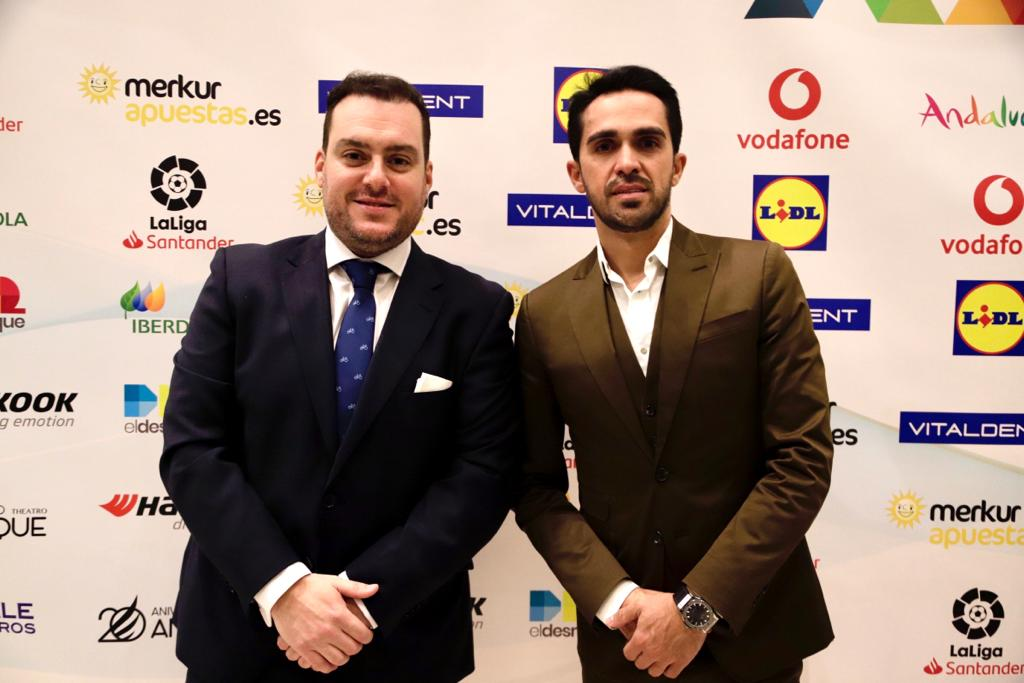 Fede Quintero y Alberto Contador