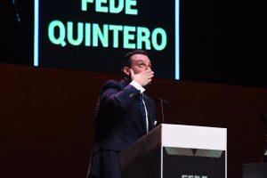 Fede Quintero dedica unas palabras a su padre.
