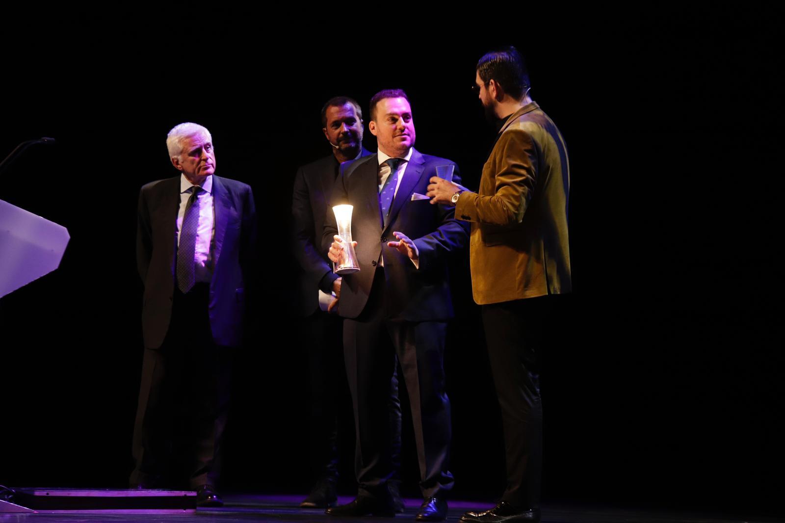 Premio a Fede Quintero