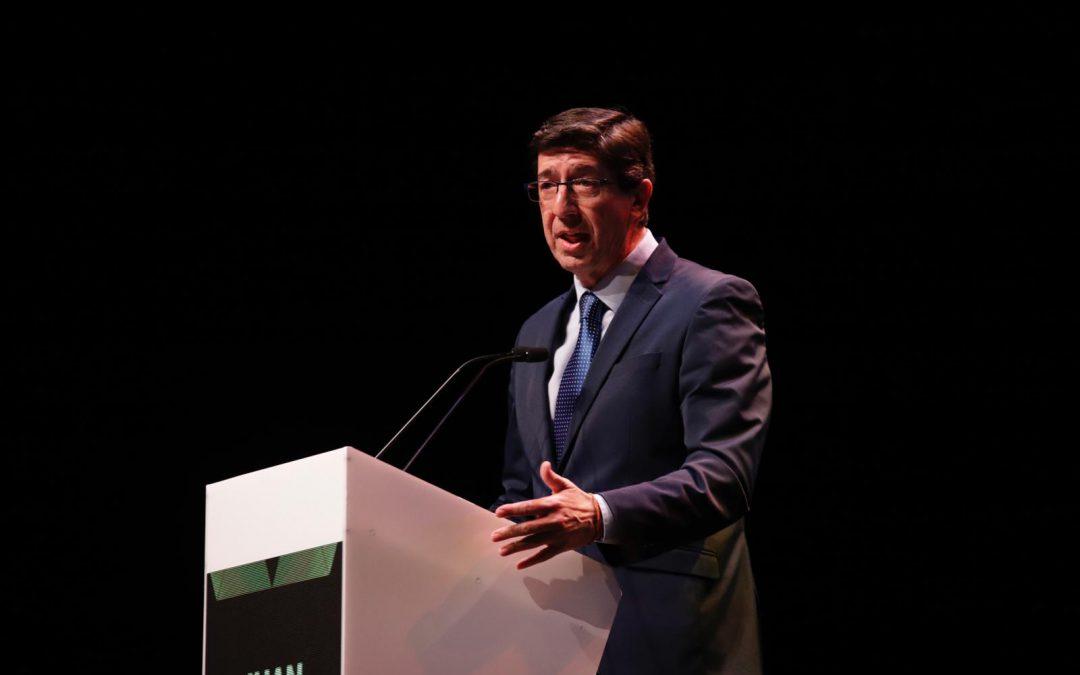 """Juan Marín: """"Gracias al sacrificio de los premiados, somos mejor sociedad para afrontar el futuro"""""""
