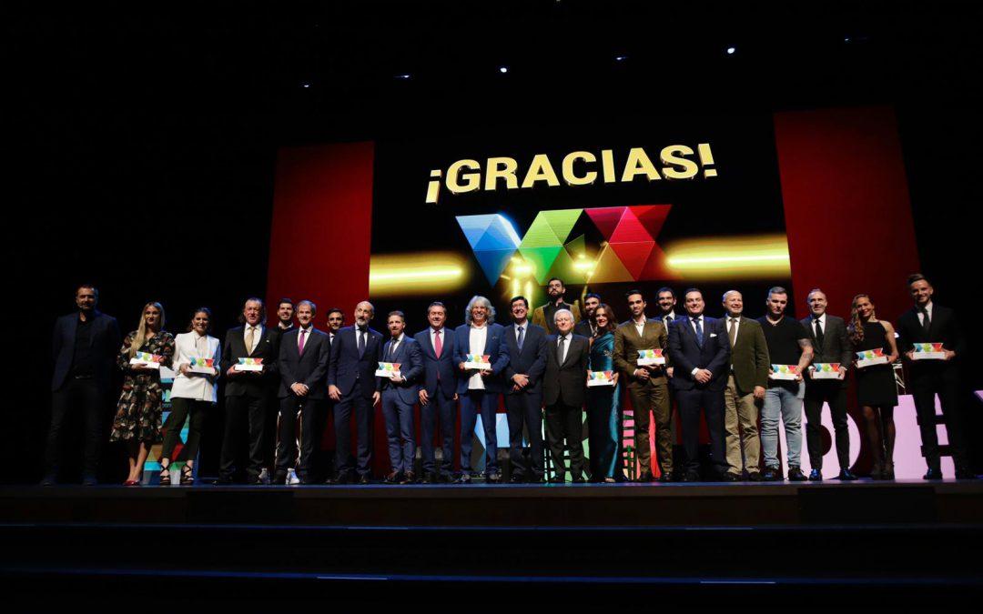 Los III Premios DEX reúnen en Sevilla a todos los valores importantes del deporte